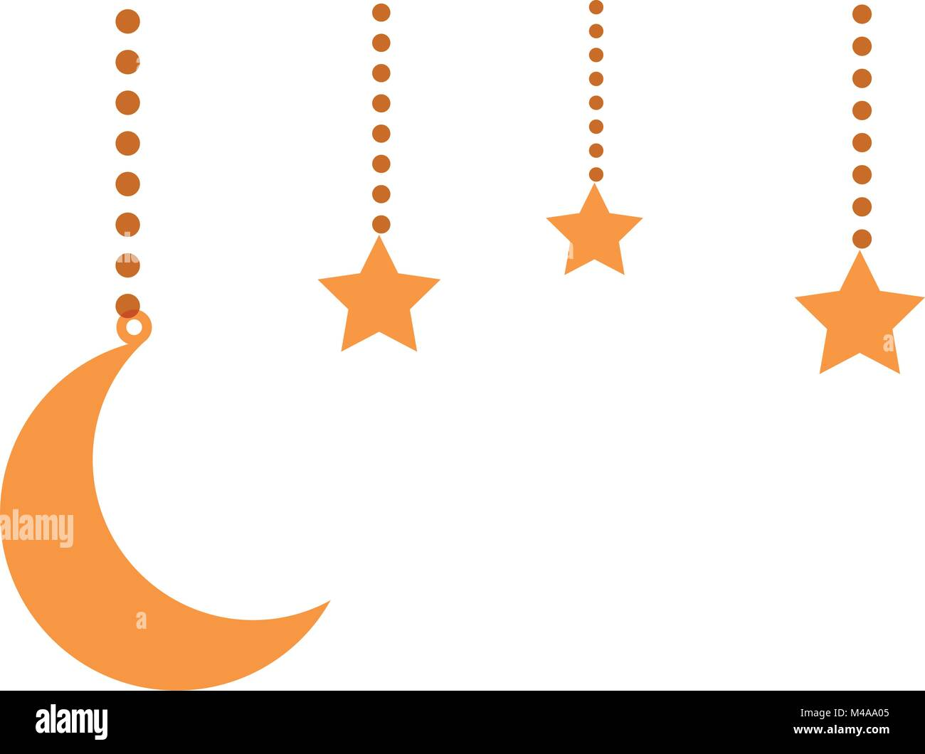 half moon night astrology cut out stock images pictures alamy. Black Bedroom Furniture Sets. Home Design Ideas