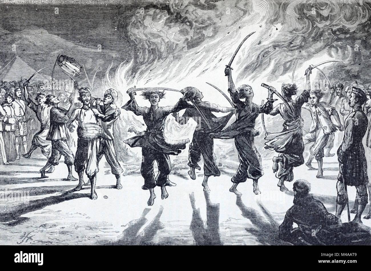 Khattak Dancers Khattak Dance Sword Dance Or War Dance By The