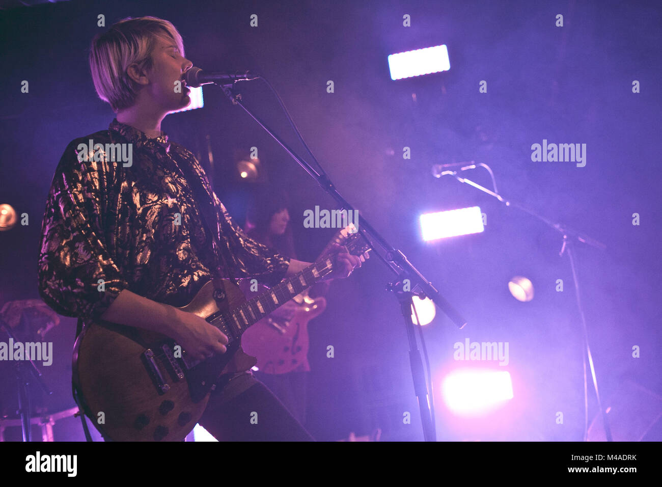 The American Singer Songwriter And Musician Erika M Anderson Is Stock Photo Alamy
