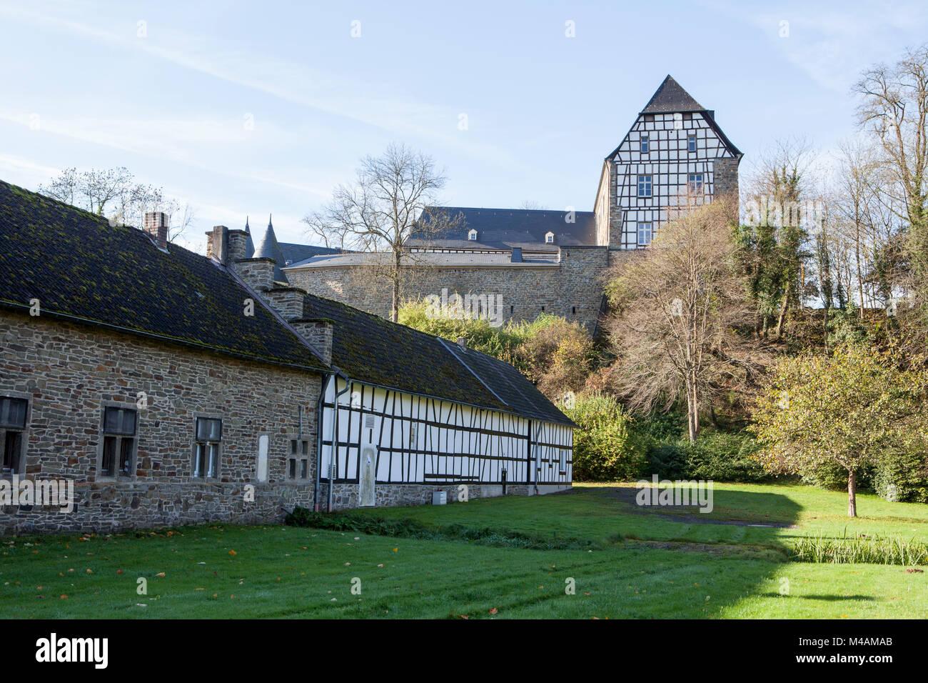Herrnstein castle, North Rhine-Westphalia, Germany - Stock Image