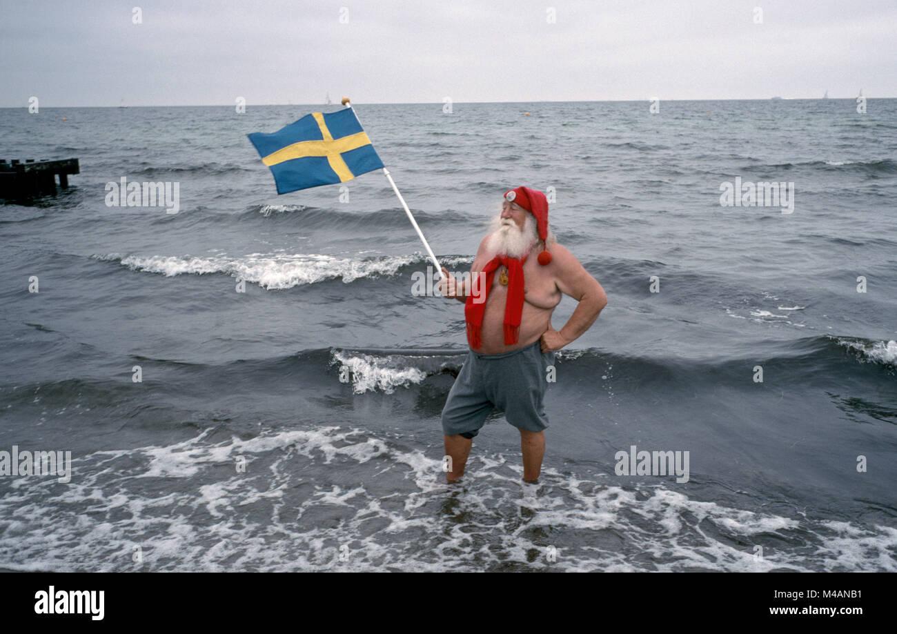 Denmark. Kobenhavn. Klampenborg. Santa Claus Annual conference. - Stock Image