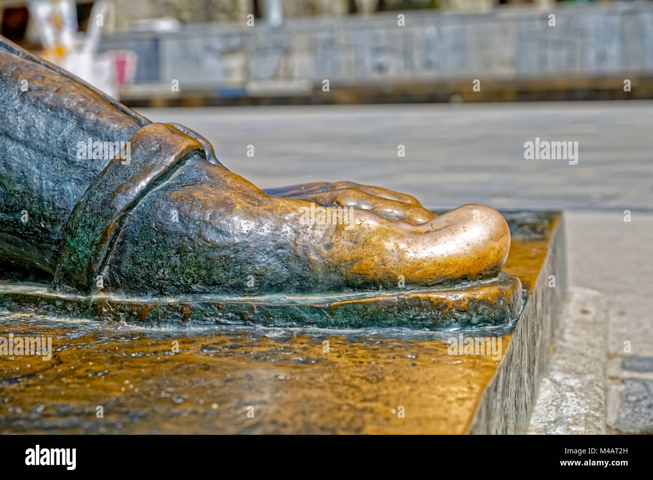 Gregory of Nin toe - Stock Image