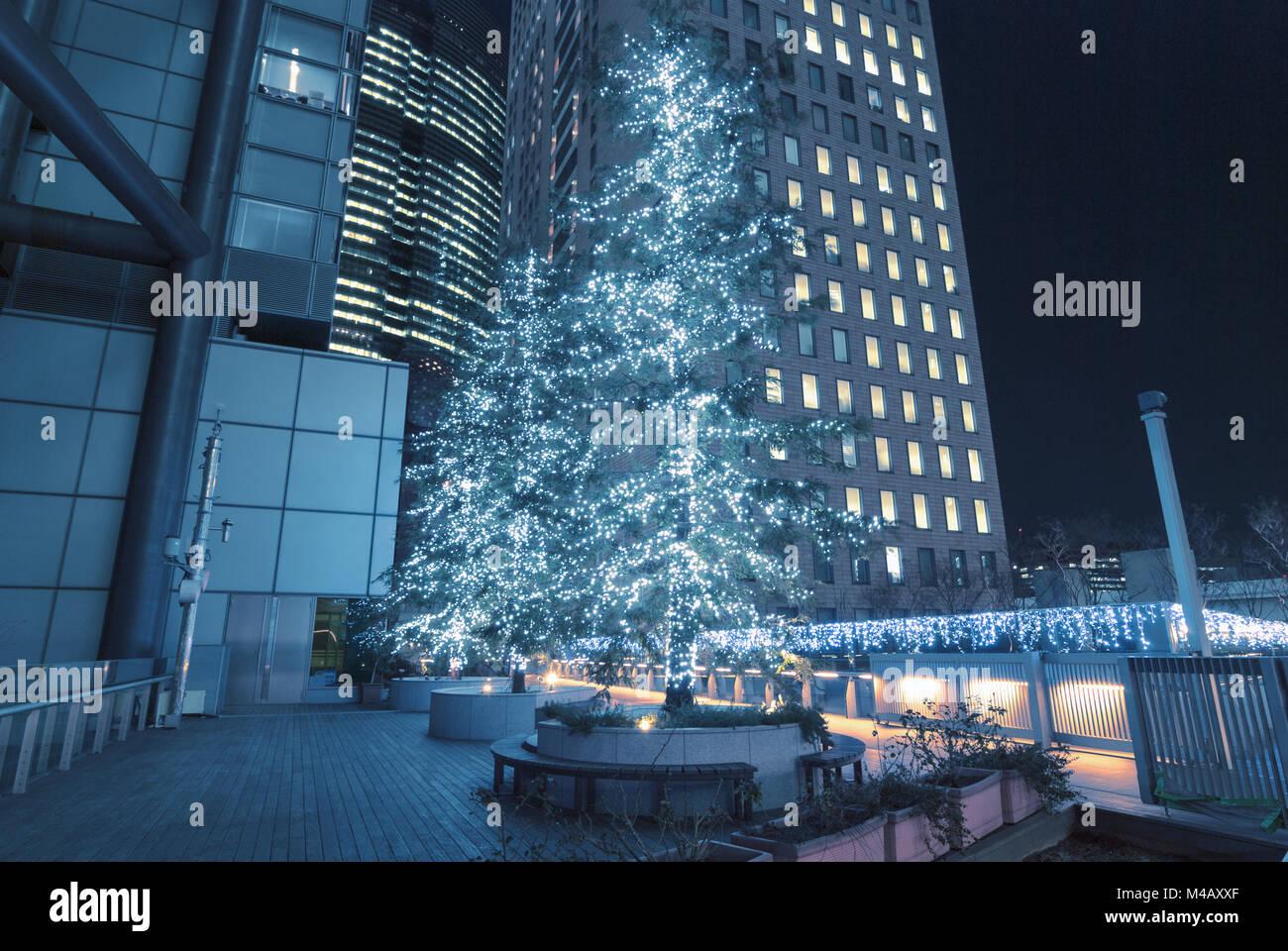 holiday illumination - Stock Image