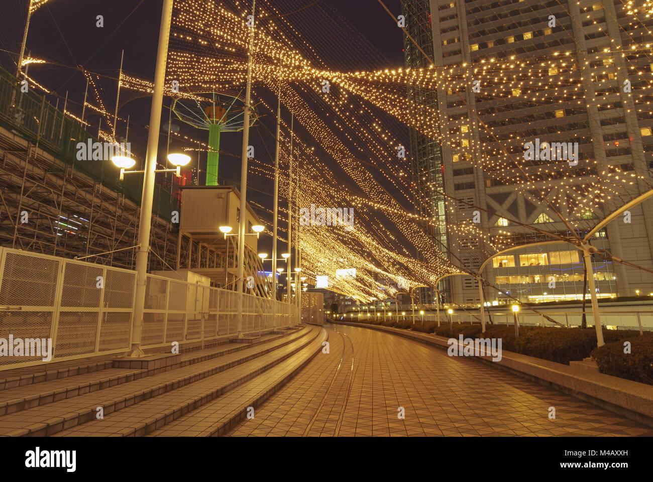 night illumination - Stock Image