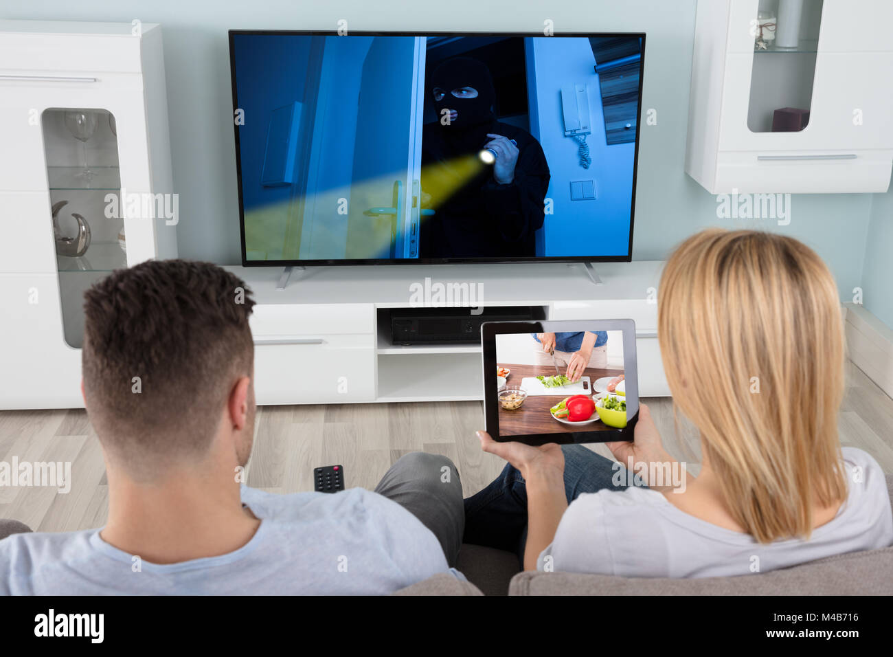 Watch Tv Tablet Stock Photos Watch Tv Tablet Stock Images