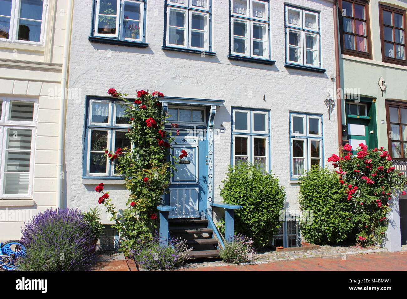 Glueckstadt idyll - Stock Image