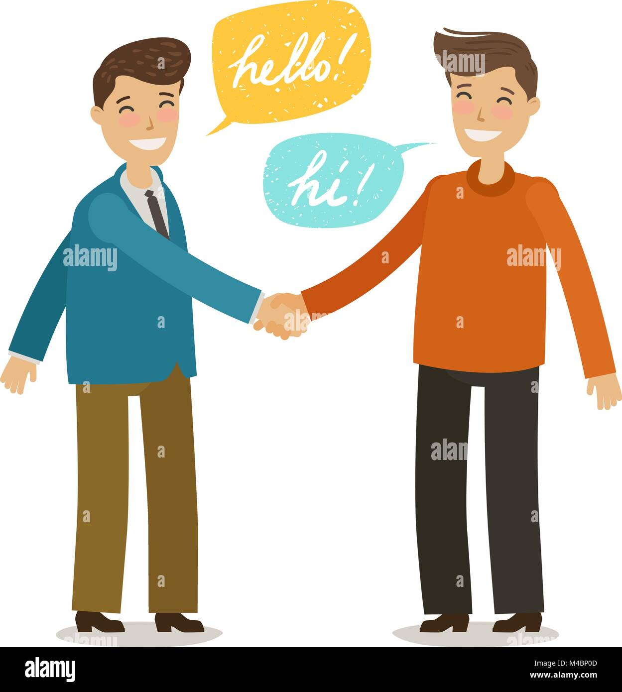 View Hand Shake Cartoon Images Images