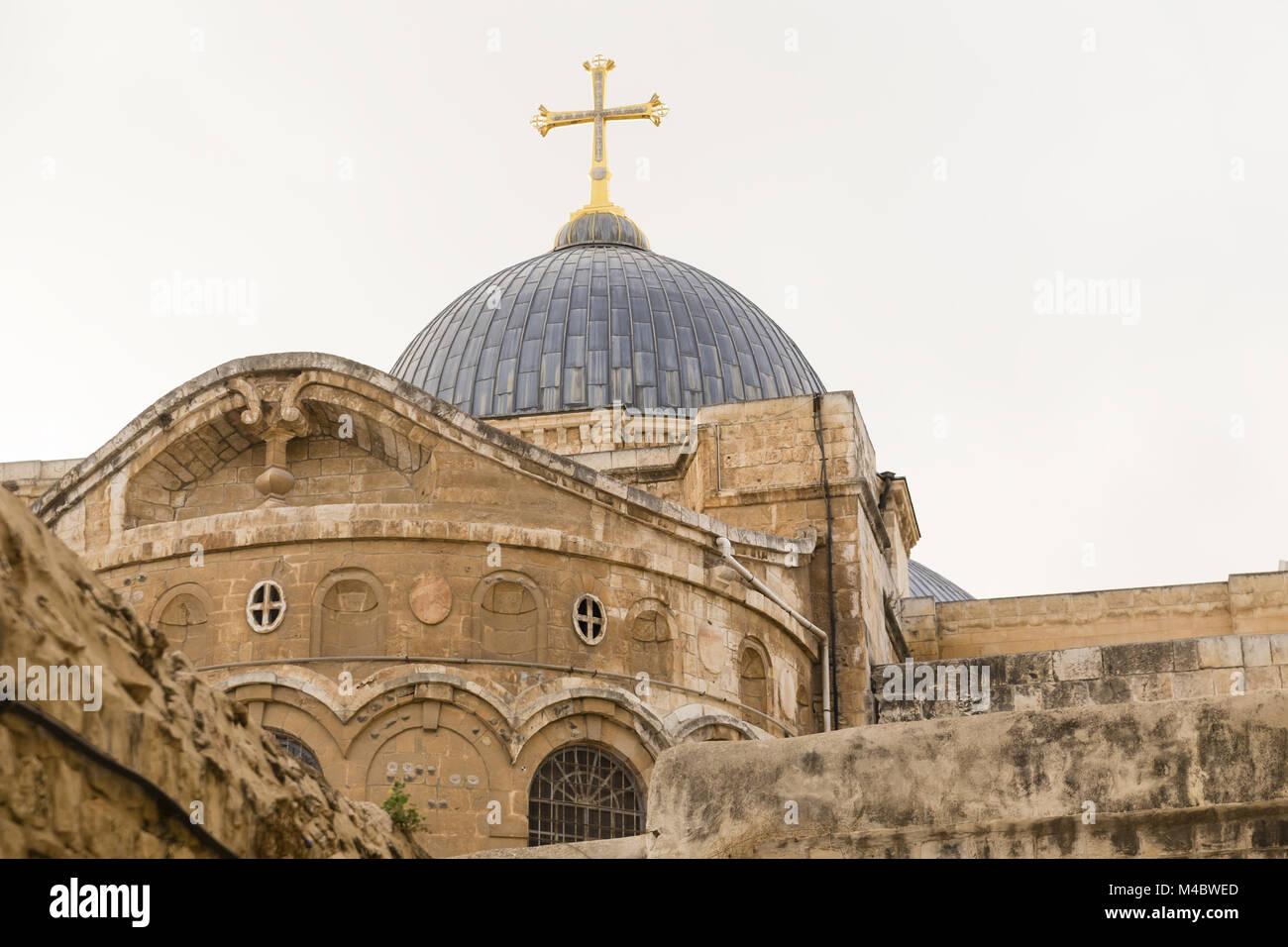 Church of the Holy Sepulchre, Jerusalem, Israel Stock Photo