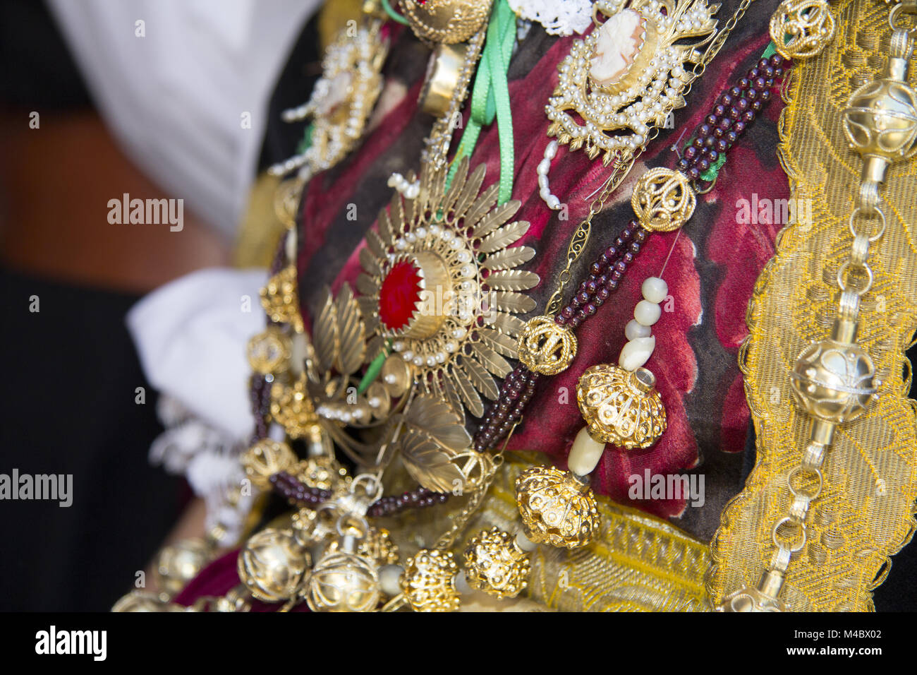 Sardinian jewels - Stock Image