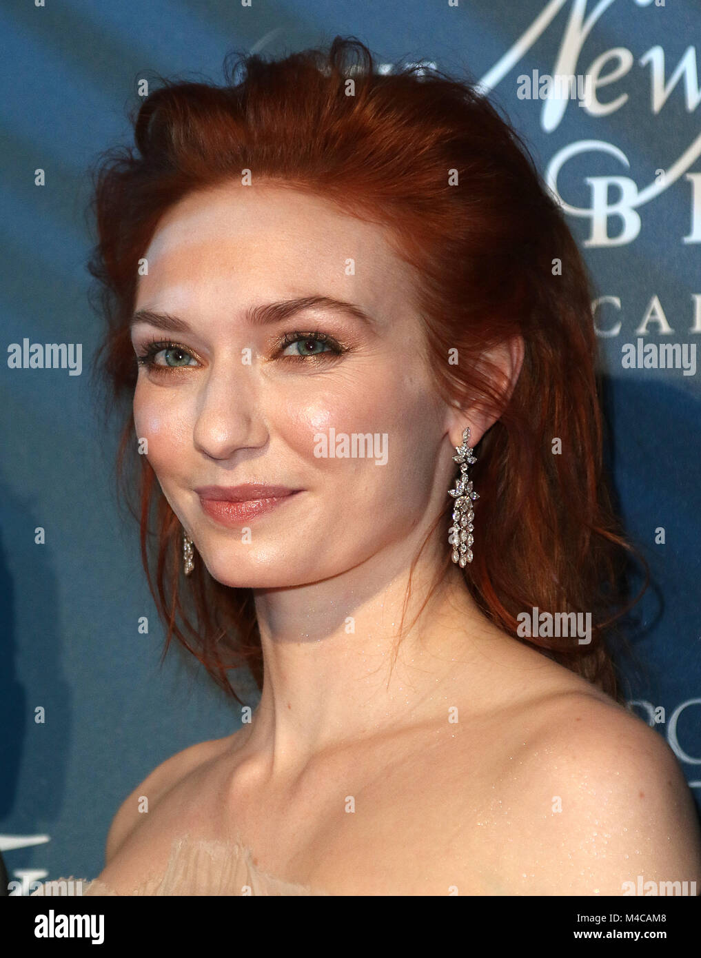 London, UK. 15th February, 2018. Eleanor Tomlinson, Newport Beach Film Festival - Annual UK Honours Event, The Rosewood Stock Photo