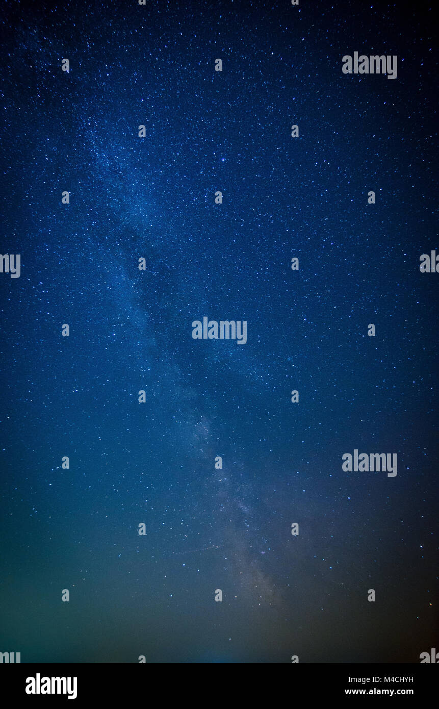 The Stars of the Milky Way - Stock Image