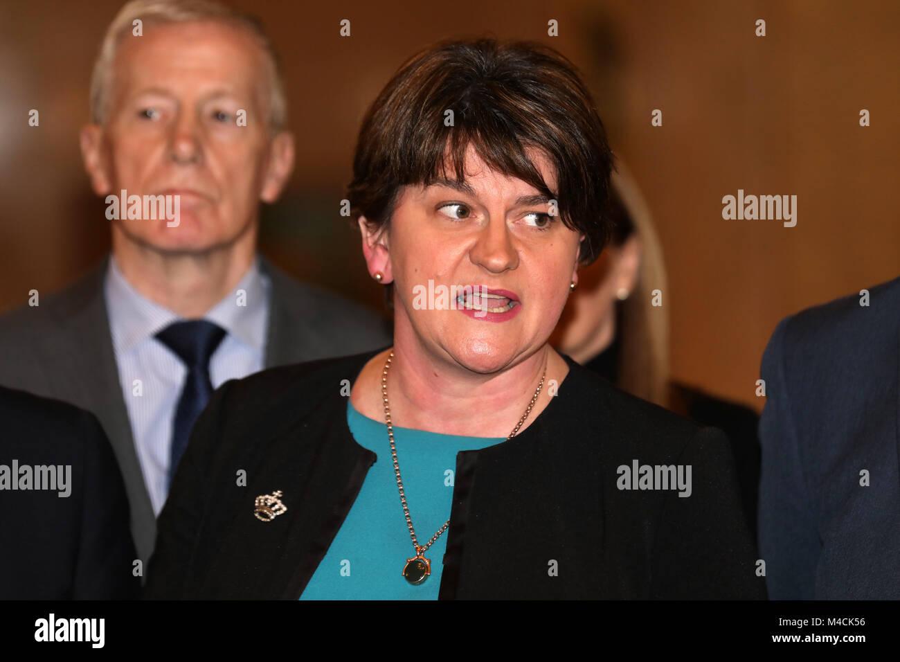Northern Ireland Talks Failure Fallout - Stock Image