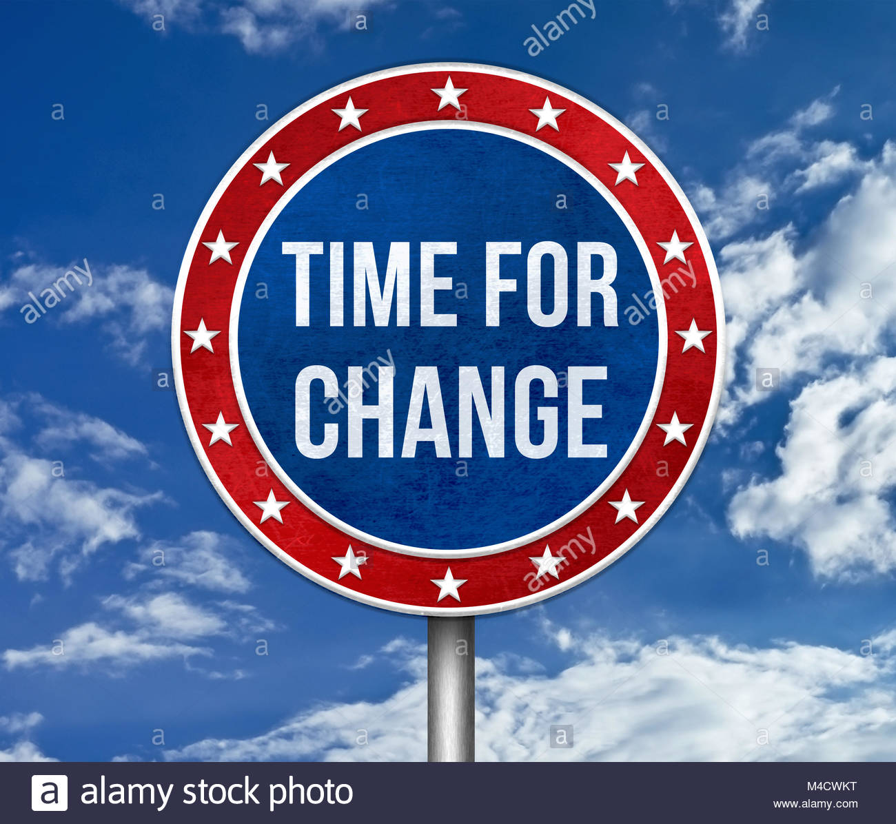Time for Change - Stock Image