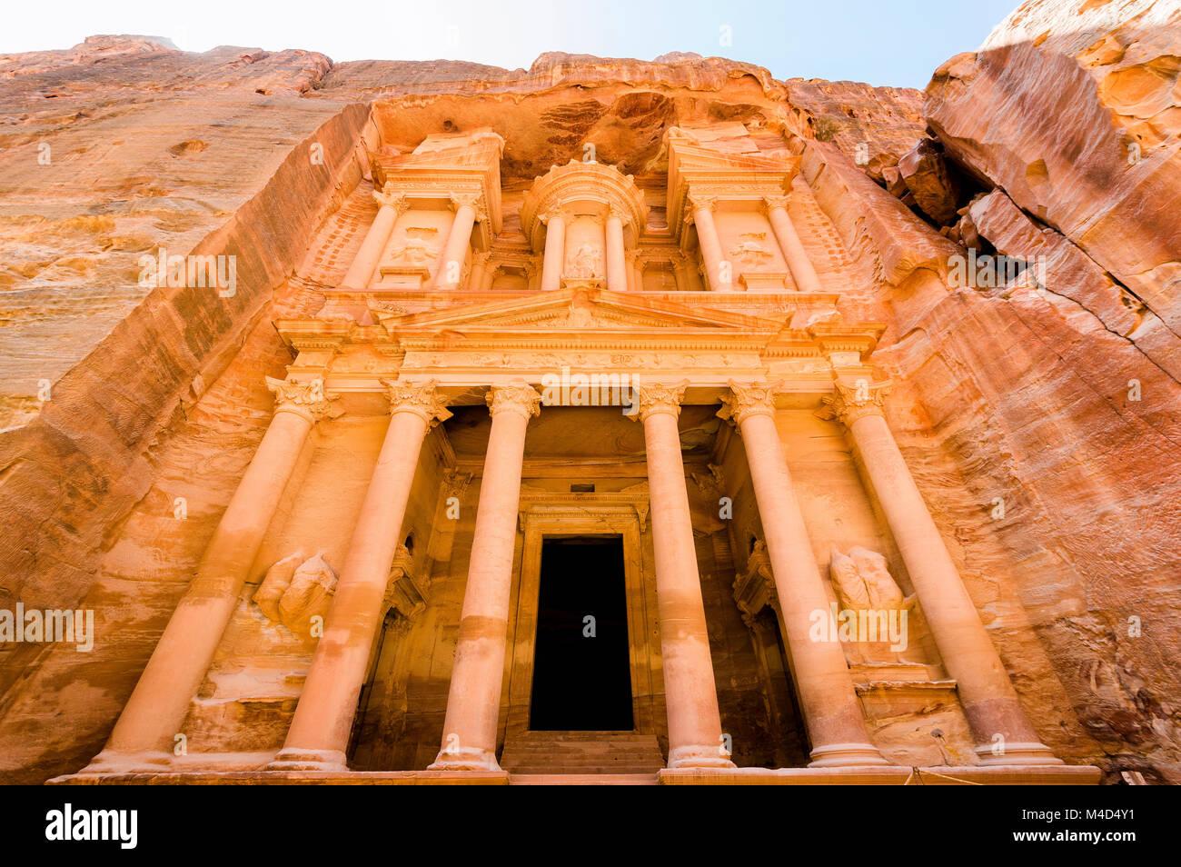 Desert life in Jordan - Stock Image