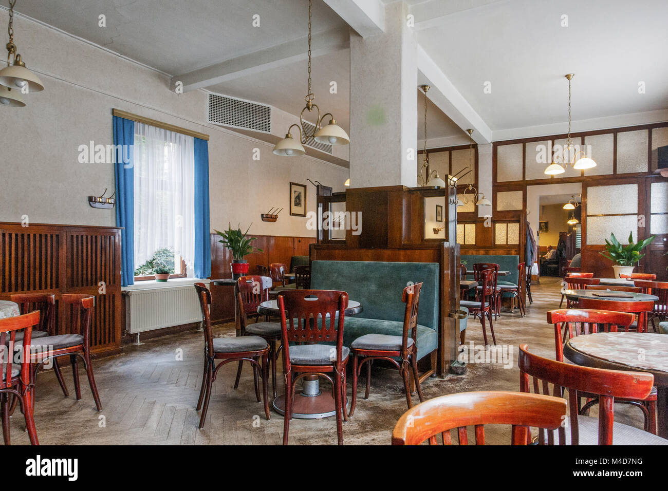 Old Coffeehouse in Sangerhausen (Saxony-Anhalt) - Stock Image