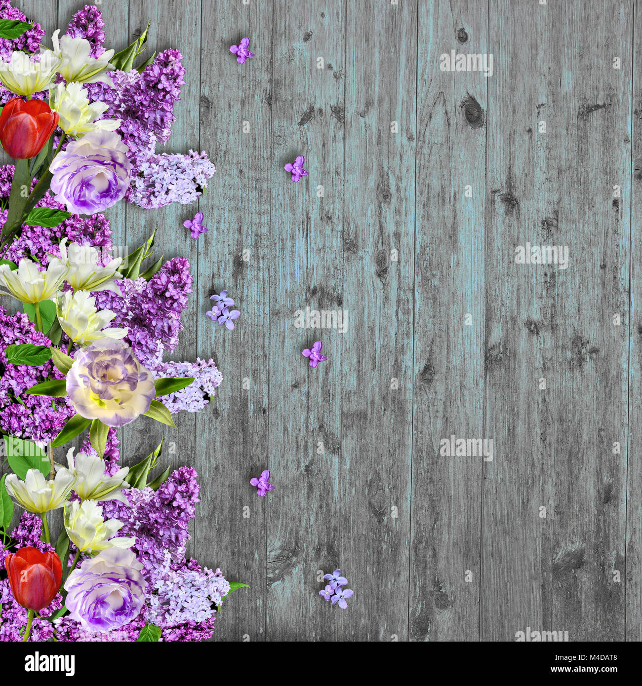 CdHBH 7x5ft Italy Town Backdrop Abandoned Barn Photography Background Grunge Wooden Door Blooming Flowers Wedding Shooting Spring Holiday Party Backdrop Children Kids Adults Portraits Photo Studio