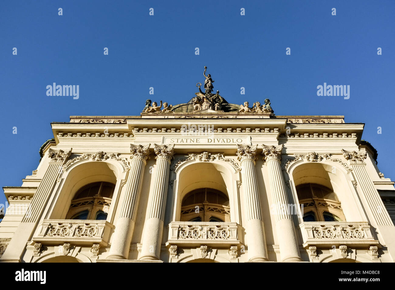 State theater in Kosice (Slovakia) - Stock Image