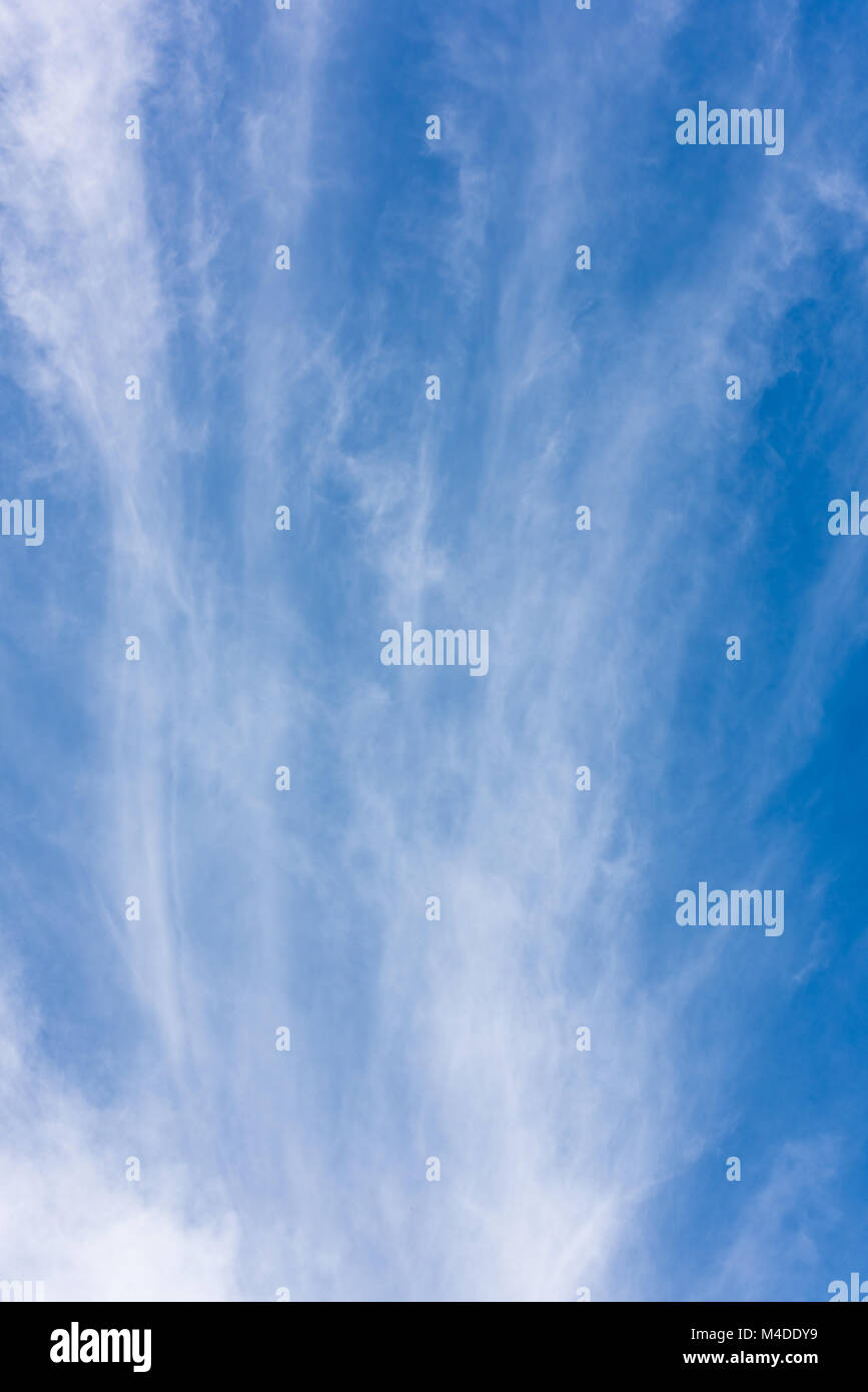 Clouds and heavens - Stock Image