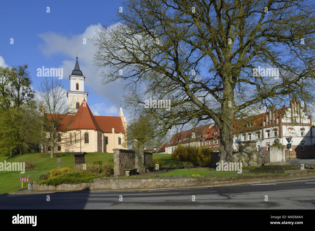 Church Boitzenburg Stock Photo