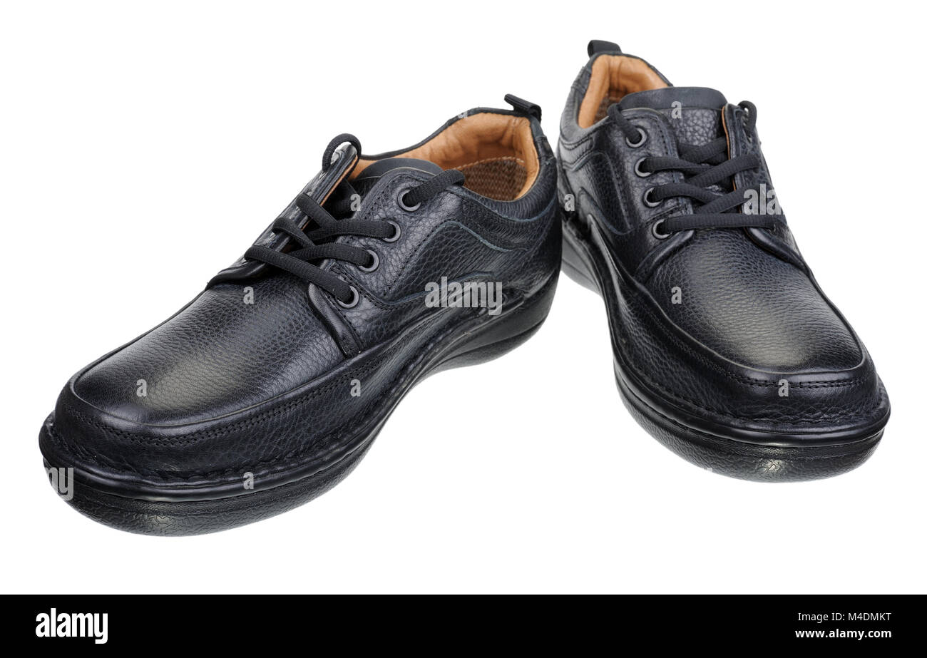The black man's shoes - Stock Image