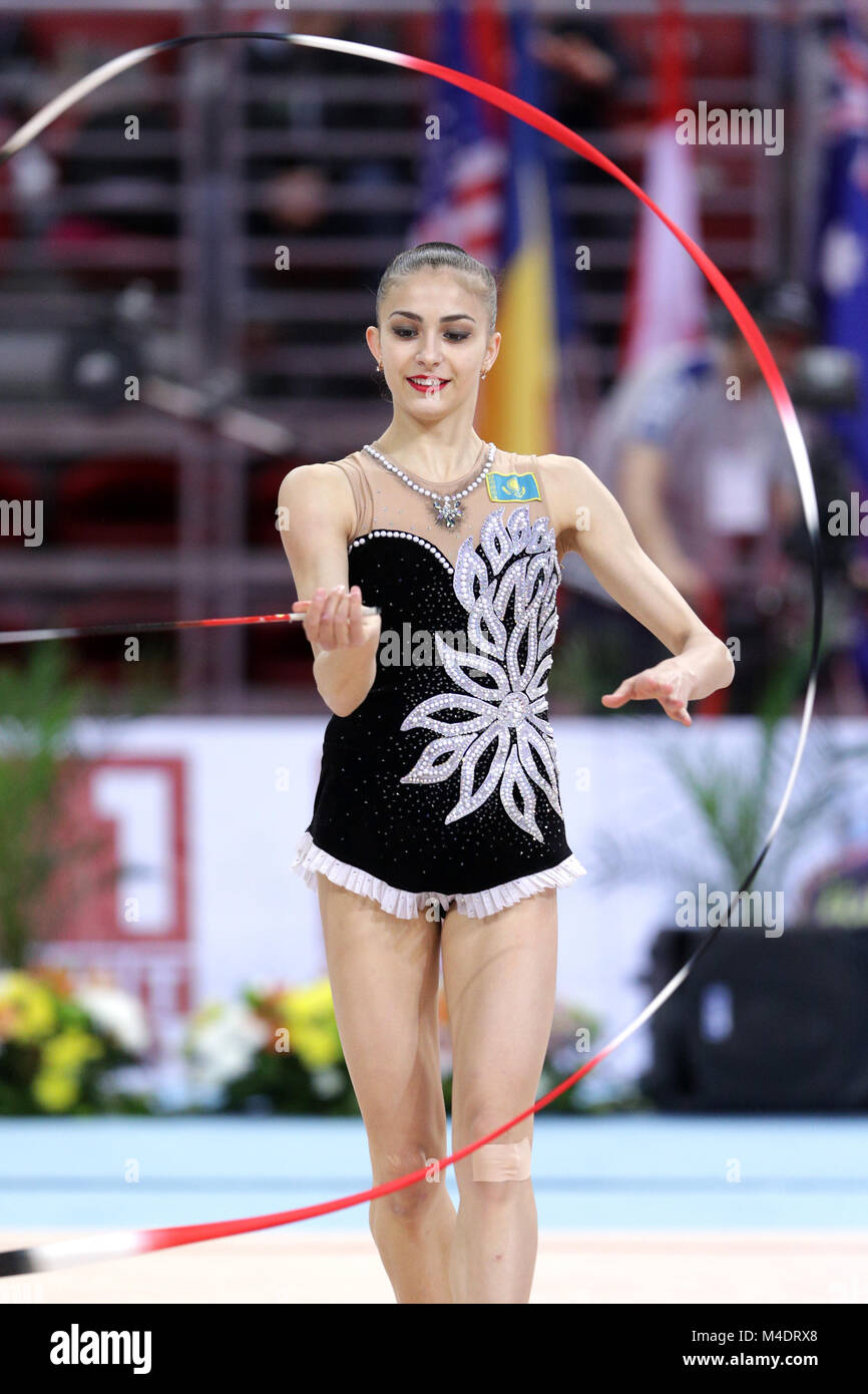 Anna Afuxenidi Kazakhstan - Stock Image