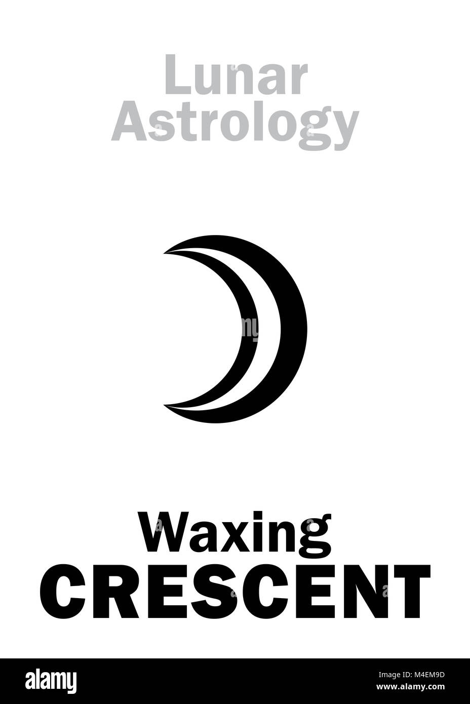 Crescent Moon Cut Out Stock Images & Pictures - Alamy