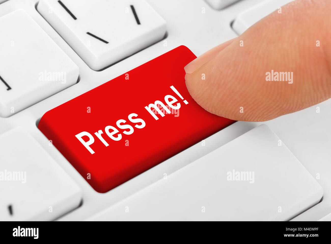 Keyboard Key Press Stock Photos & Keyboard Key Press Stock