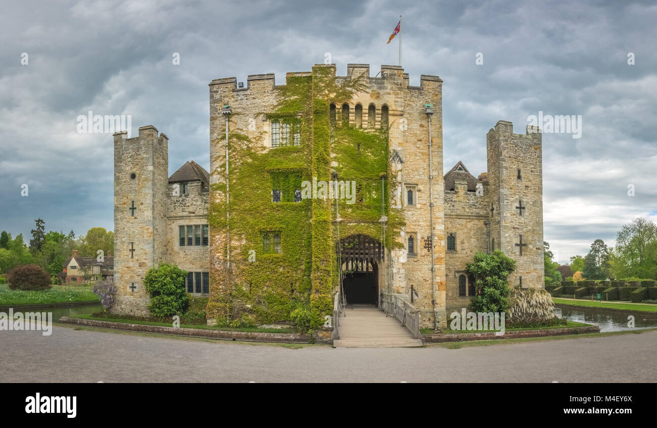 Hever Castle in Kent - Stock Image