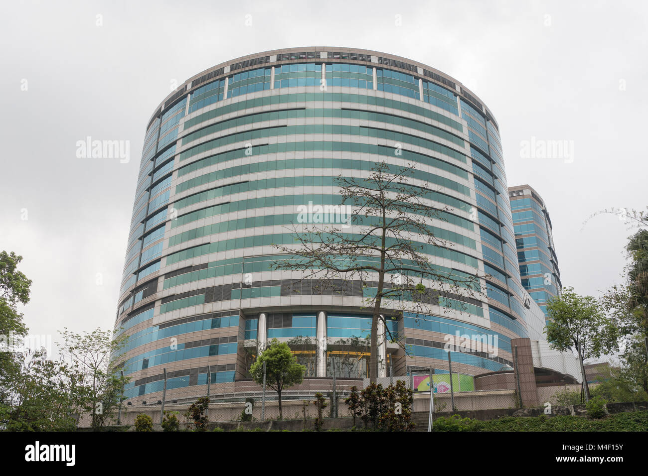 Round Building - Stock Image