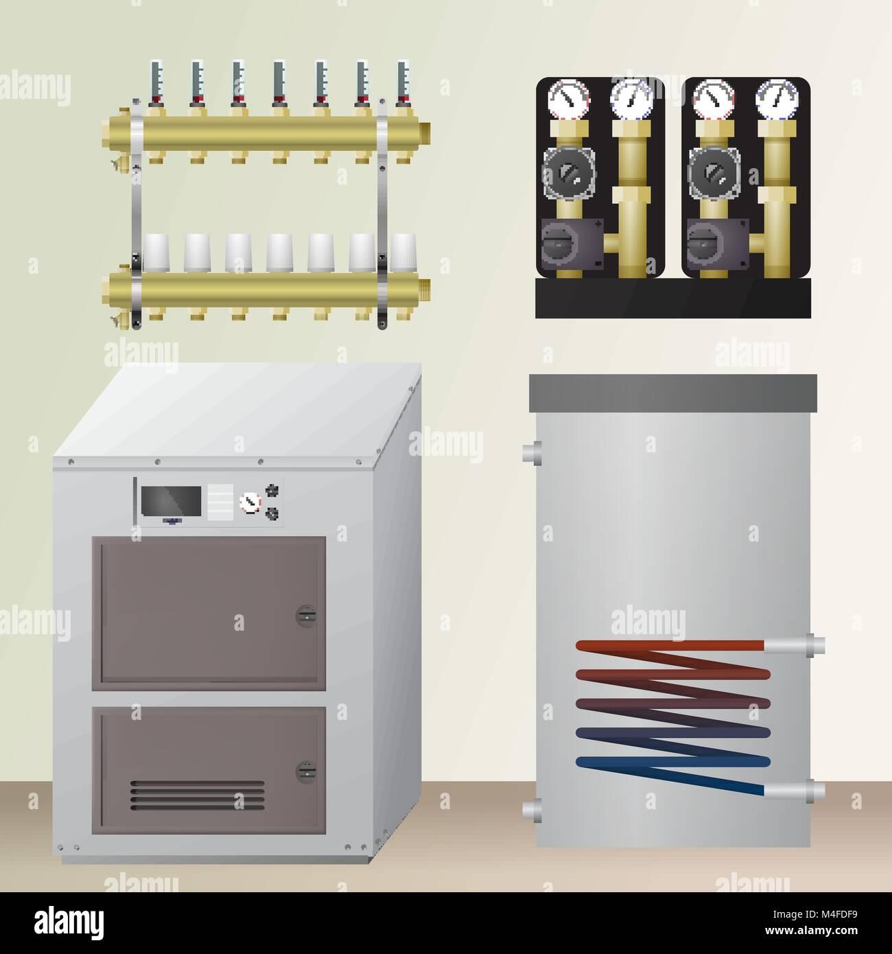 Solid fuel boilers BEACON 79