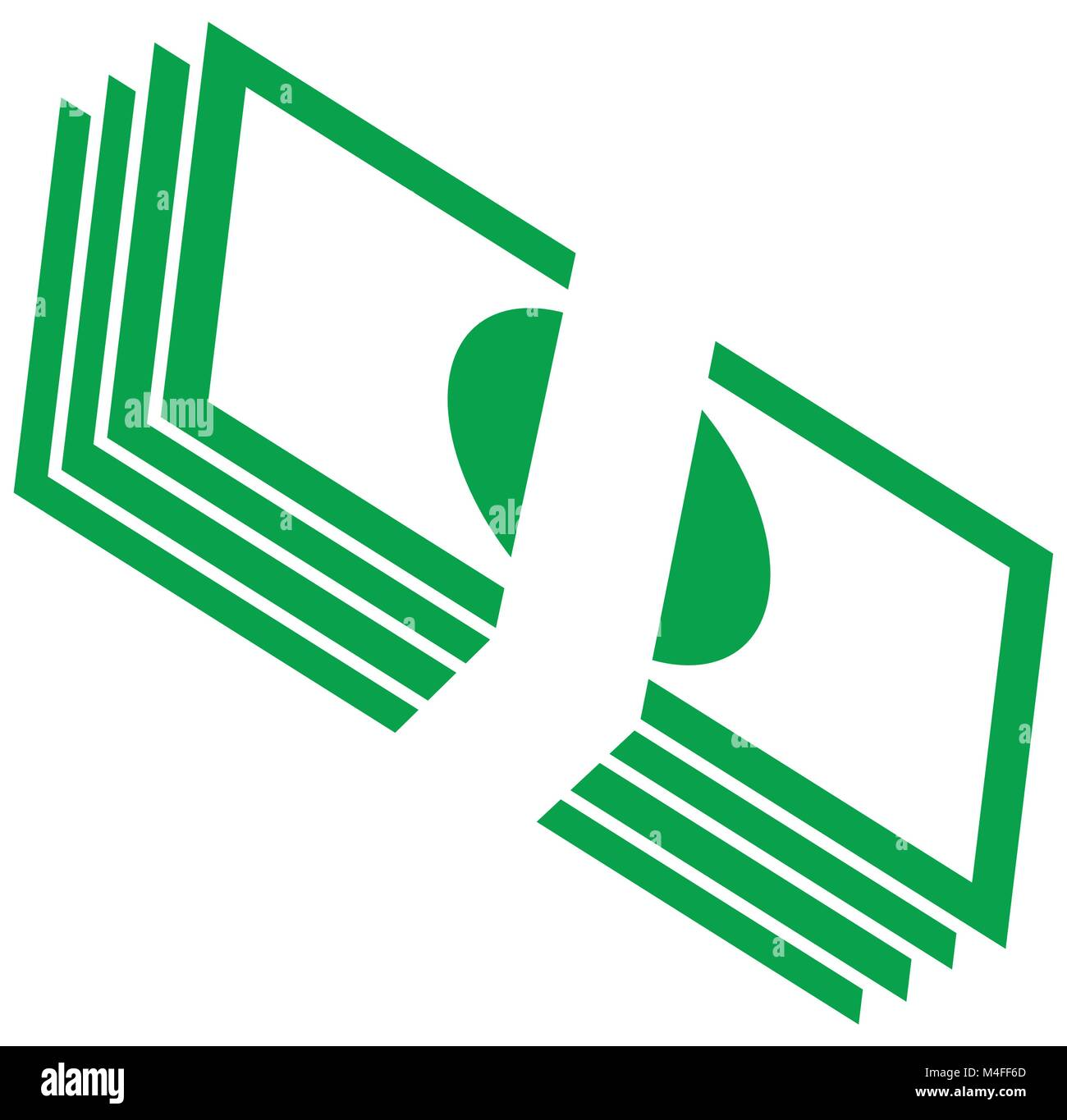 Vectors stock photos vectors stock images alamy pile of bank notes or bills stacked currency icon or logo vector symbol for biocorpaavc Gallery