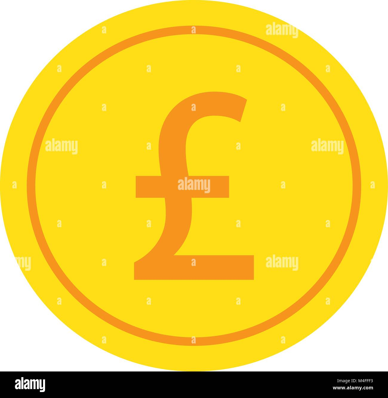 British Pound Sign Stock Vector Images Alamy