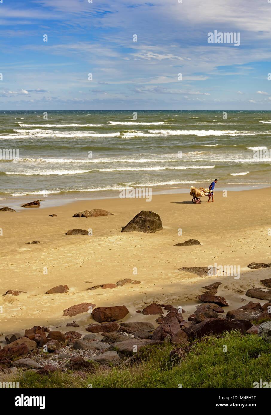 Cal beach in Torres city - Stock Image