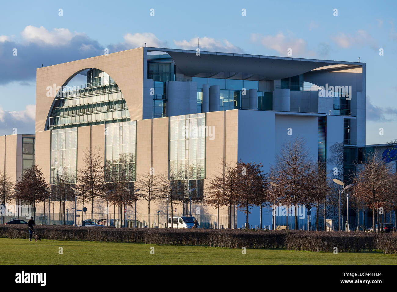 german Federal Chancellor office berlin - Stock Image