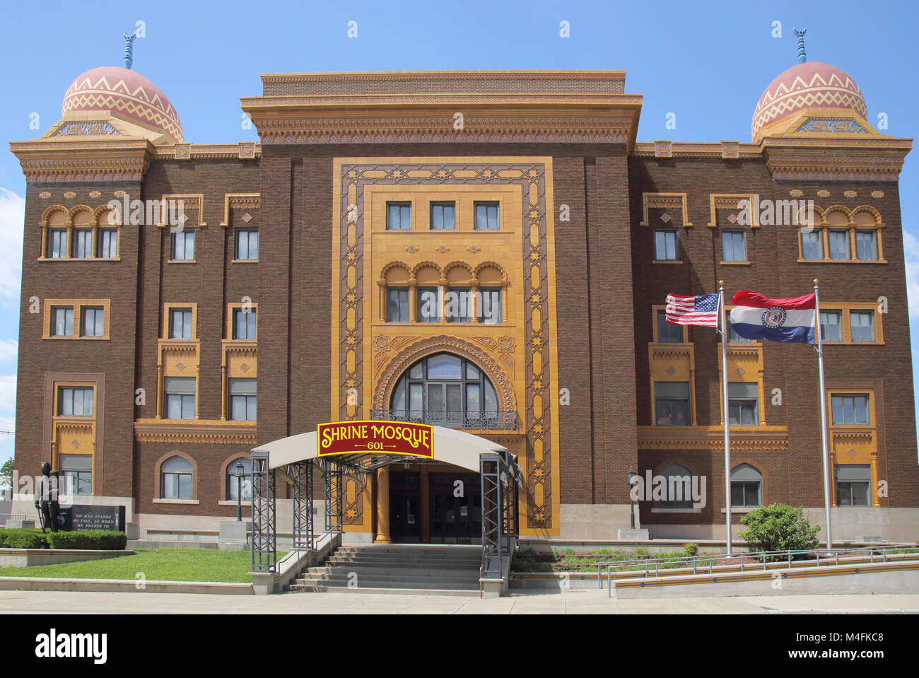 the shrine mosque theatre springfield missouri - Stock Image