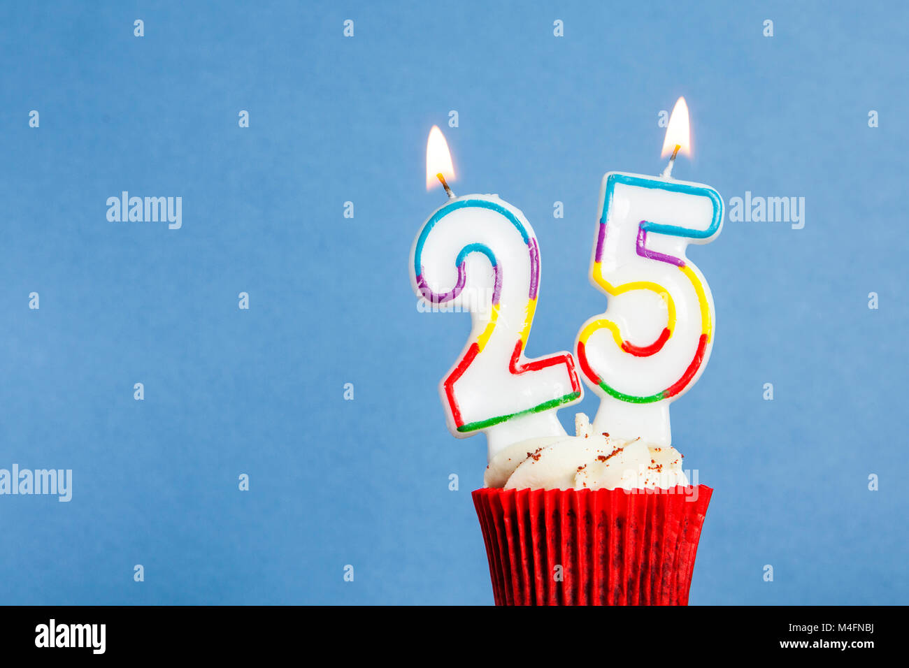 the number 25 birthday