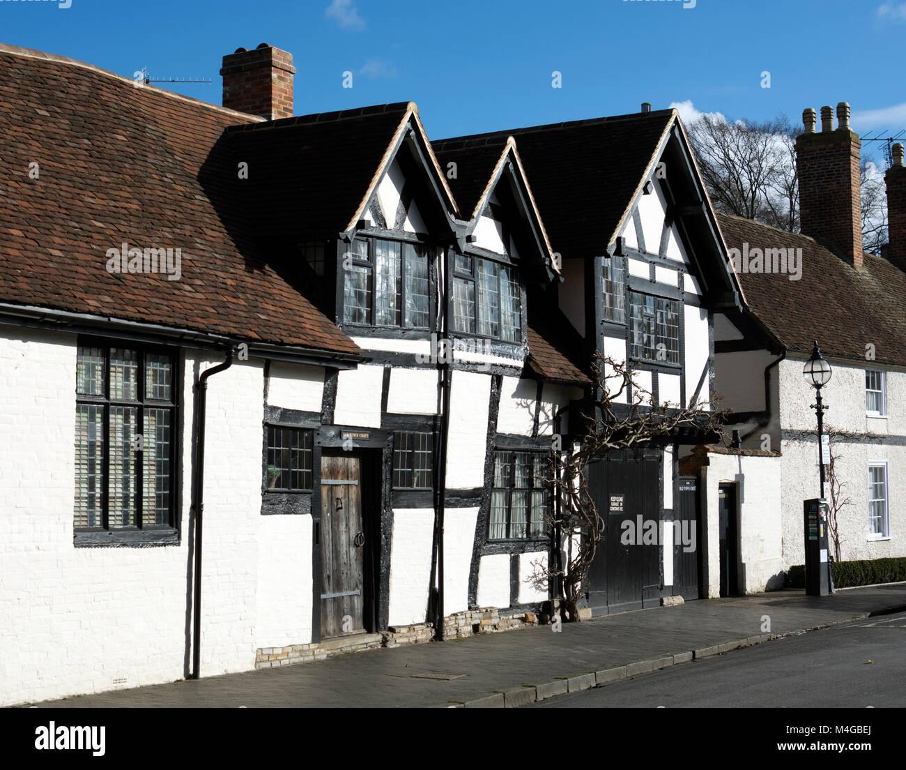 Old Town, Stratford-upon-Avon, Warwickshire, England, UK - Stock Image