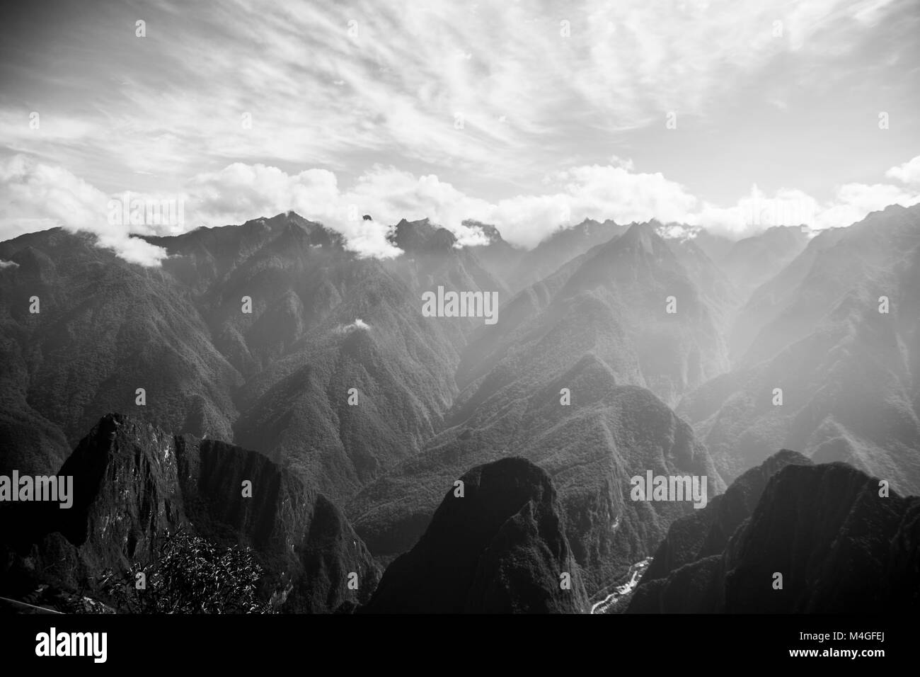 Andes mountains, Peru - Stock Image