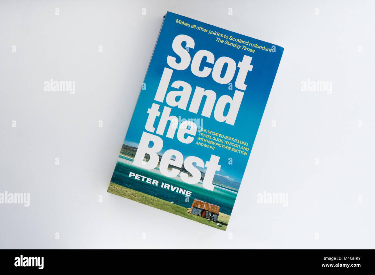Scotland the Best guide to  Scotland by Peter Irvine - Stock Image