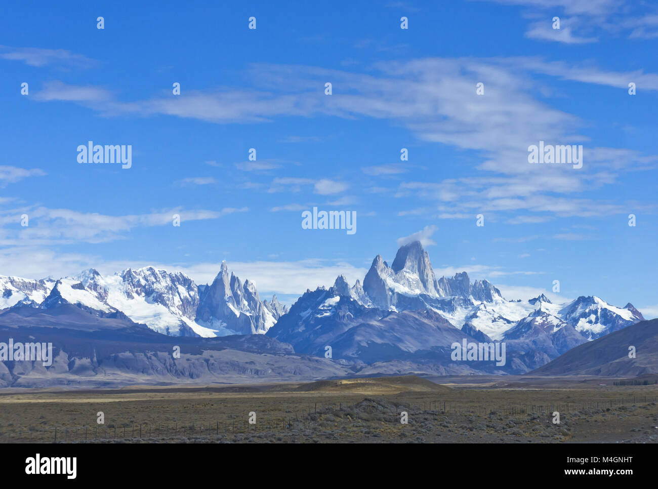 Monte Fitz Roy, Patagonia, Argentina, South America - Stock Image