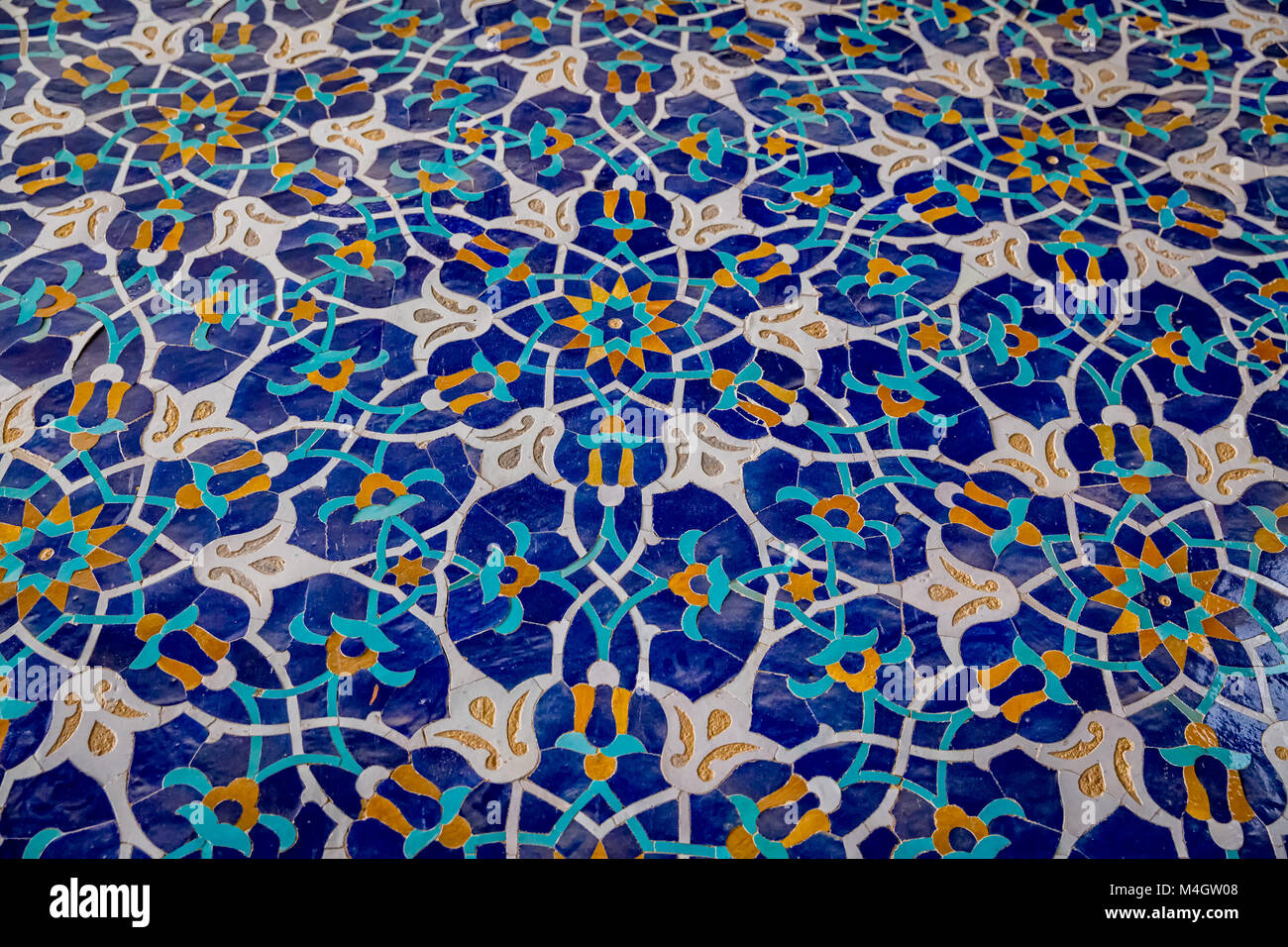 Colorful tiles in Iran Stock Photo: 174933144 - Alamy
