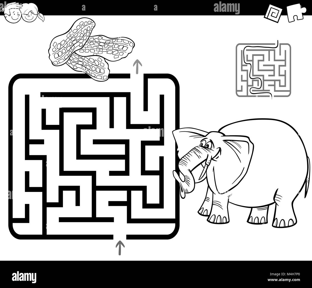 Cute Baby Elephant coloring page | Free Printable Coloring Pages | 1199x1300