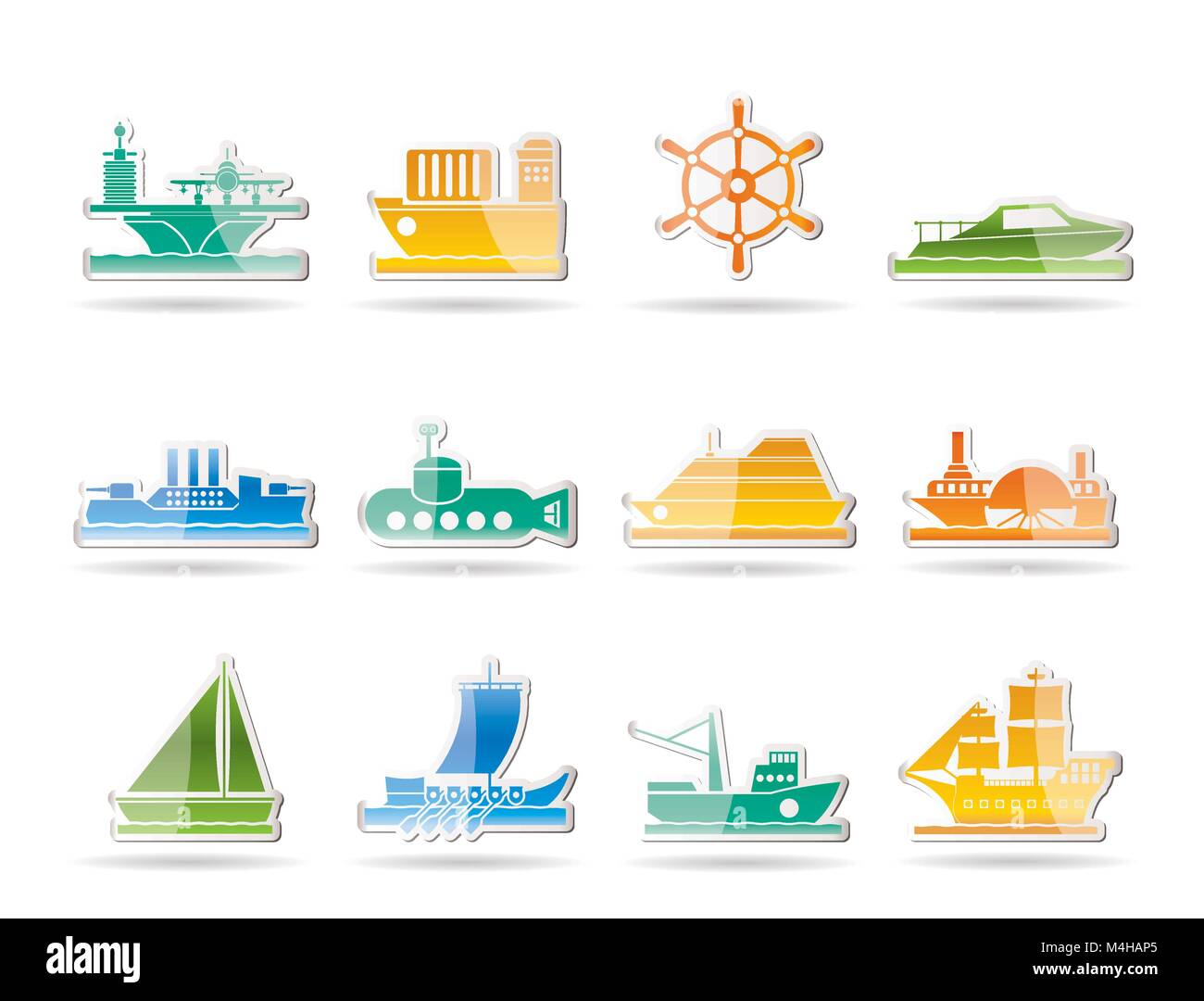 Different Types Of Boat Stock Photos & Different Types Of Boat Stock