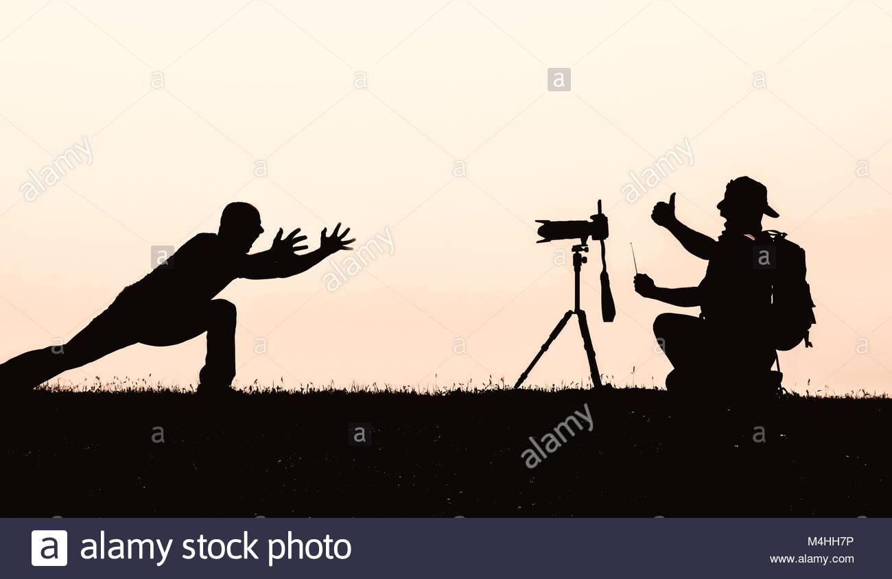 Create awareness in Photography - extraordinary photographer - Stock Image