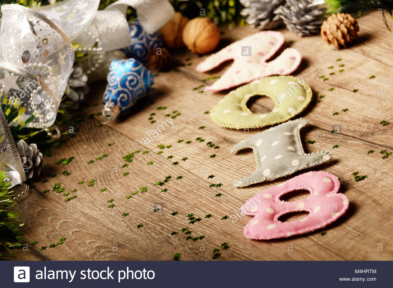 new year theme decoration figures 2018