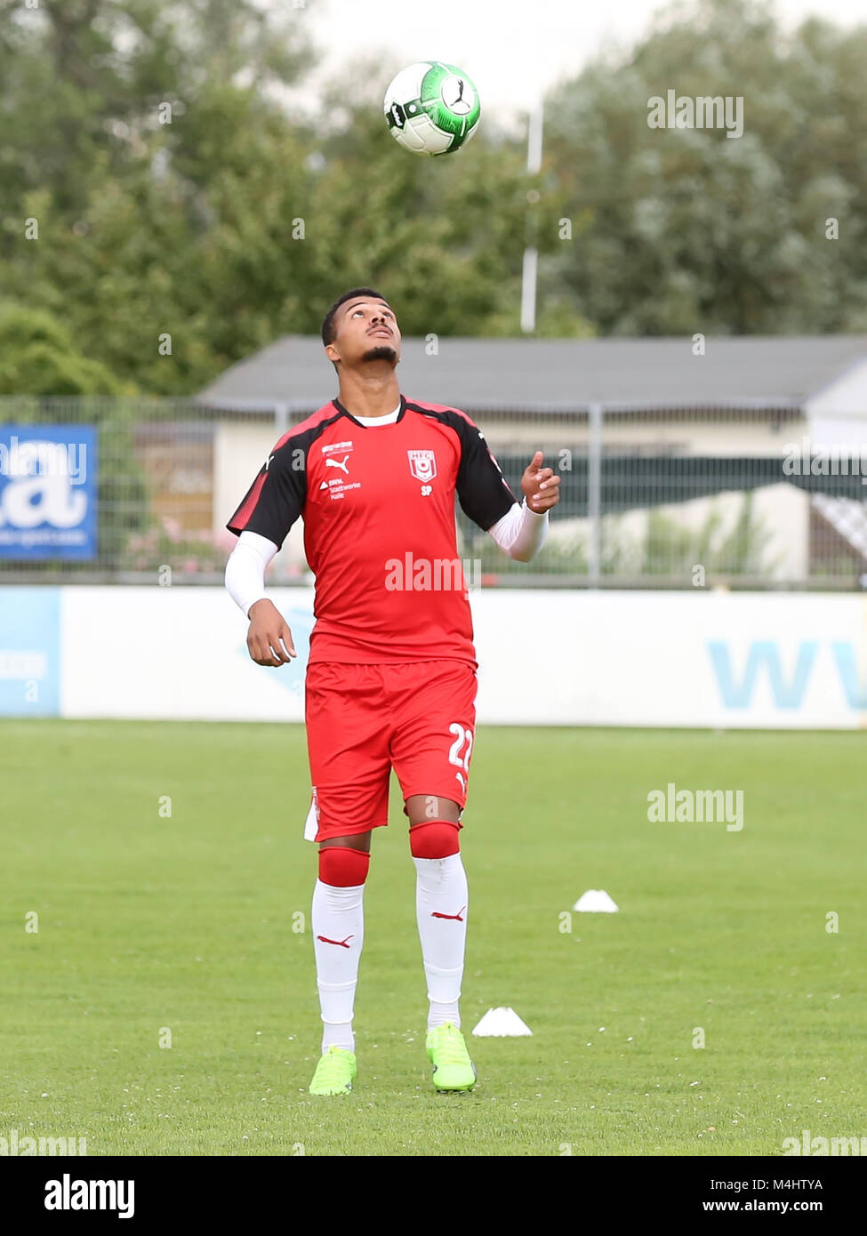 Marvin Ajani  (Hallescher FC) - Stock Image
