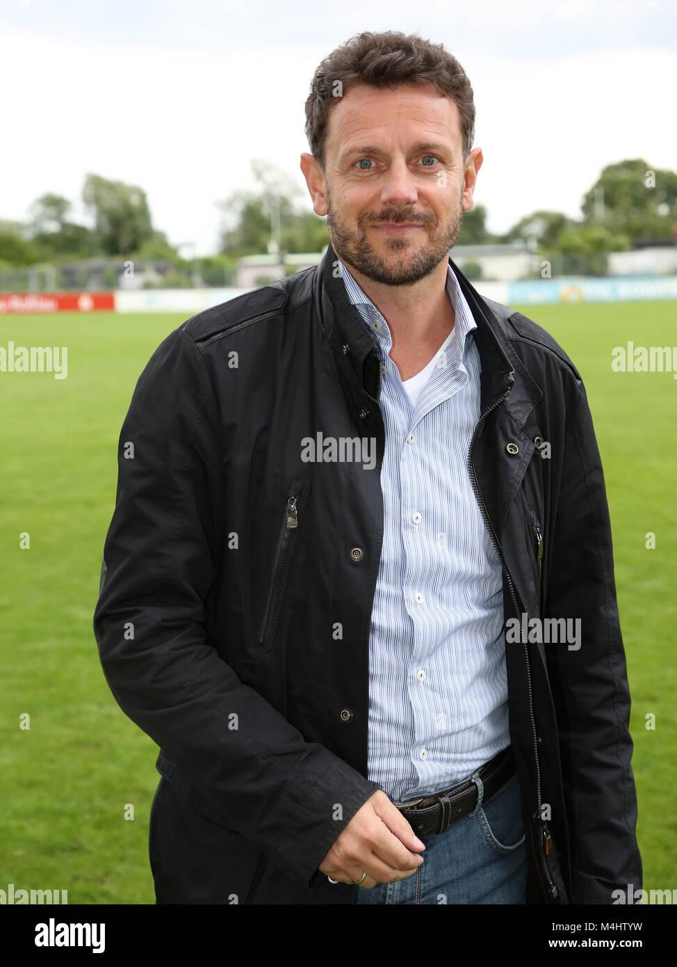 Manager Ralph Kühne (Hallescher FC) - Stock Image