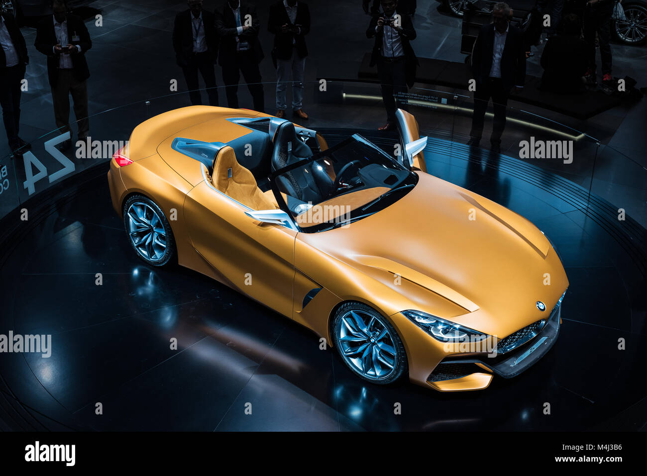 BMW Z4 - Stock Image