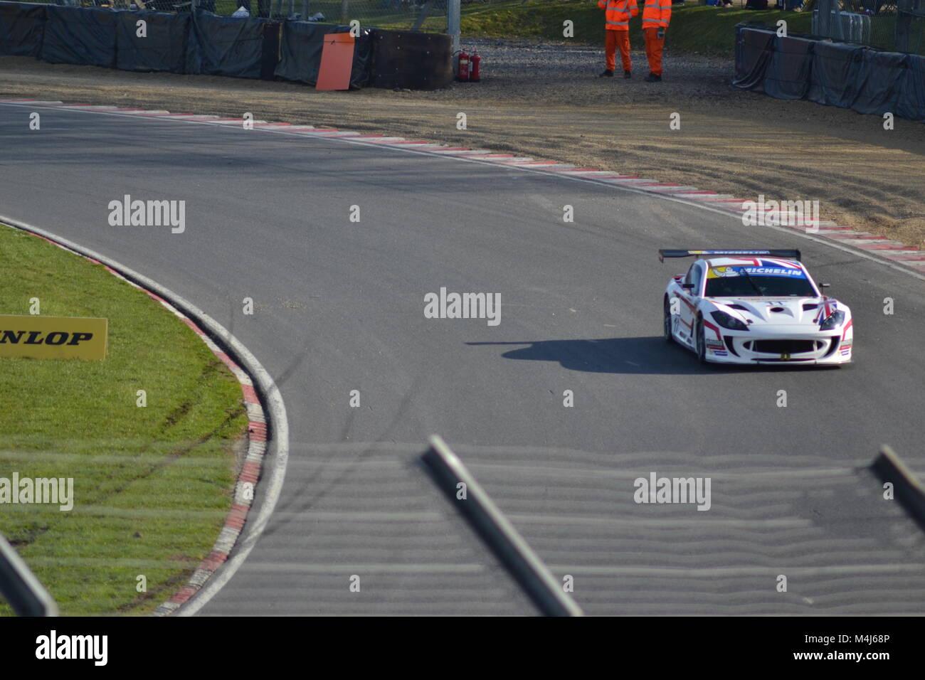brands hatch racing - Stock Image