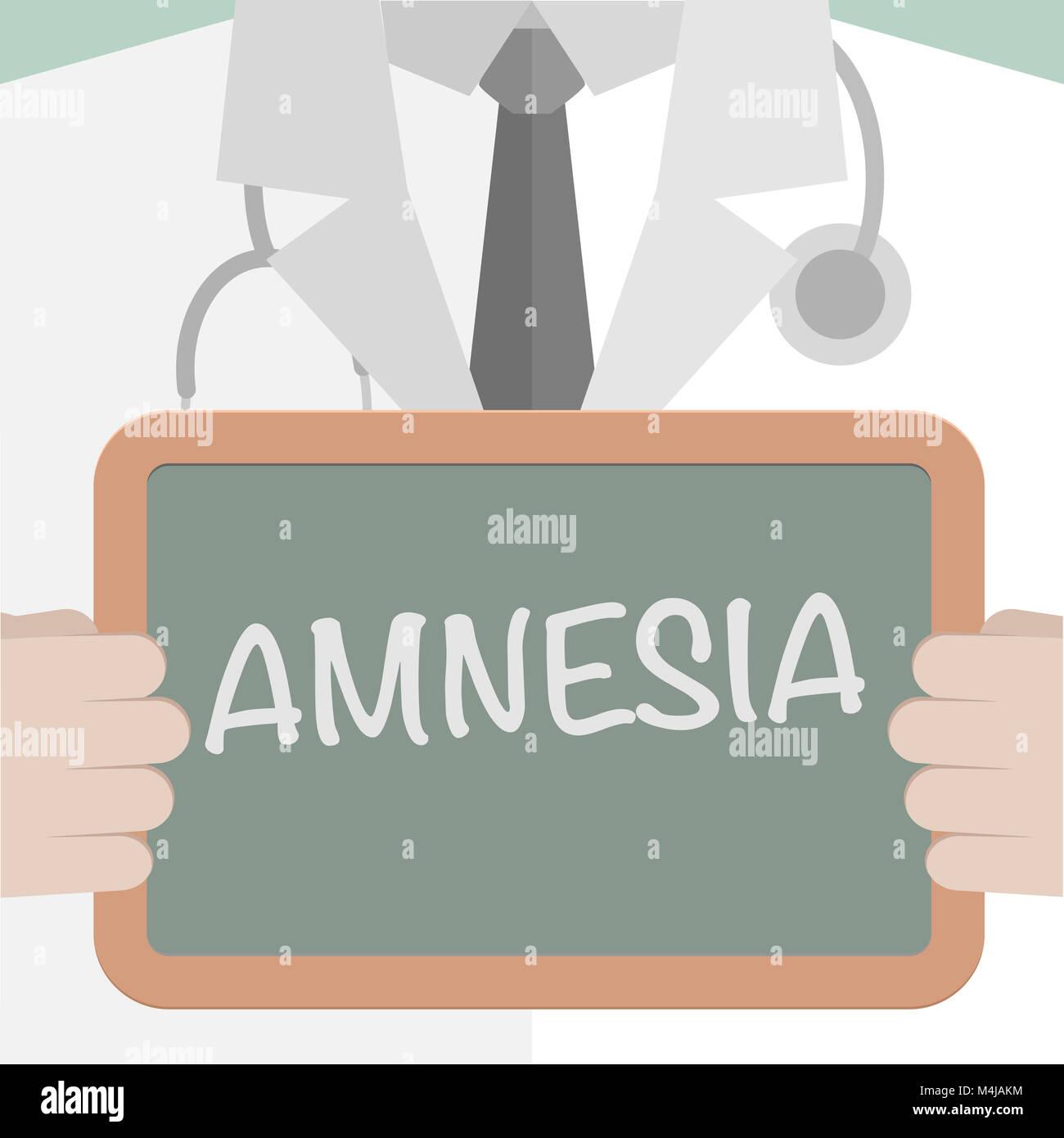 Medical Board Amnesia - Stock Image